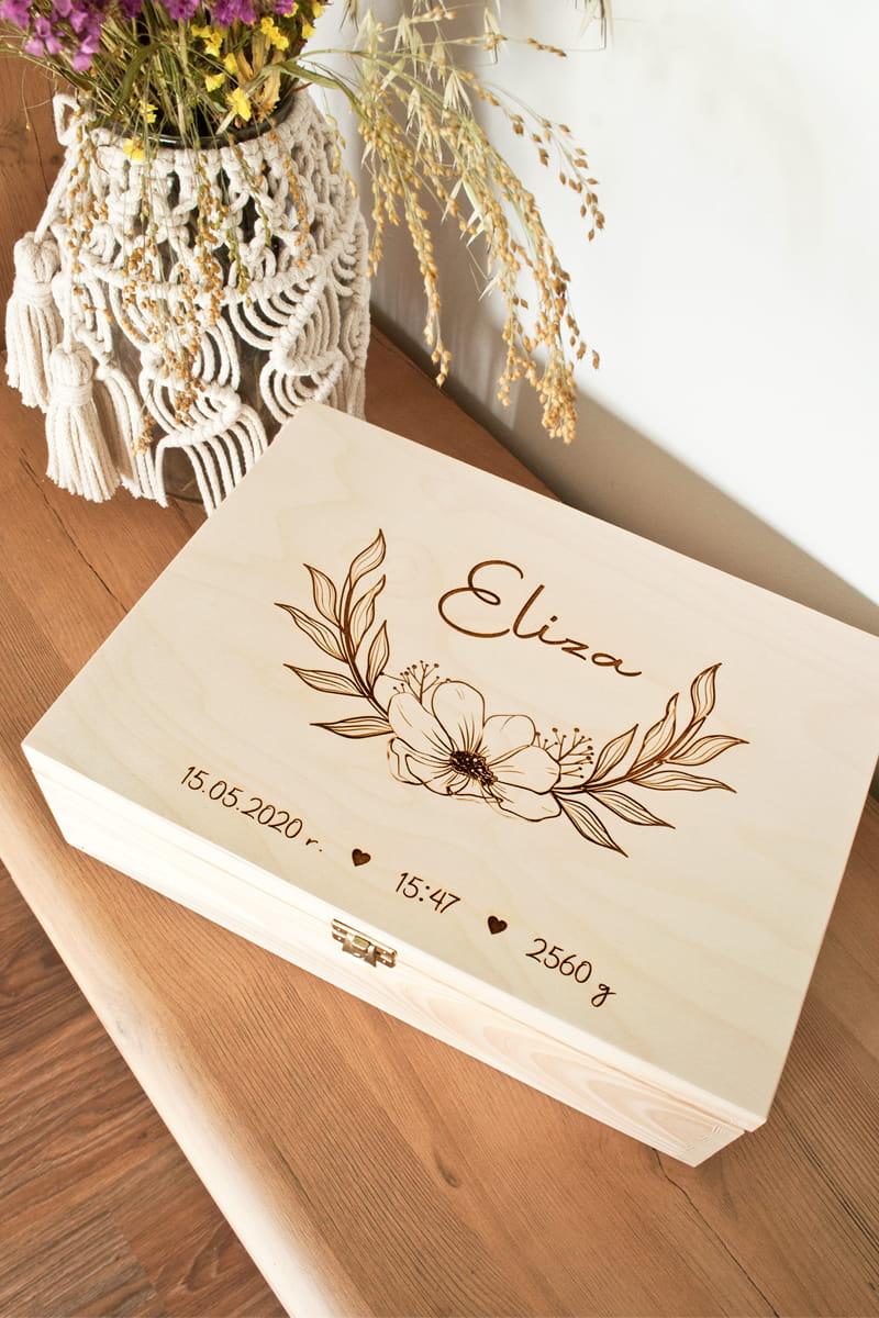 personalizowane pudełko wspomnień